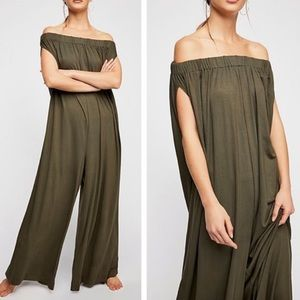 Free People Mexicali jumpsuit size M